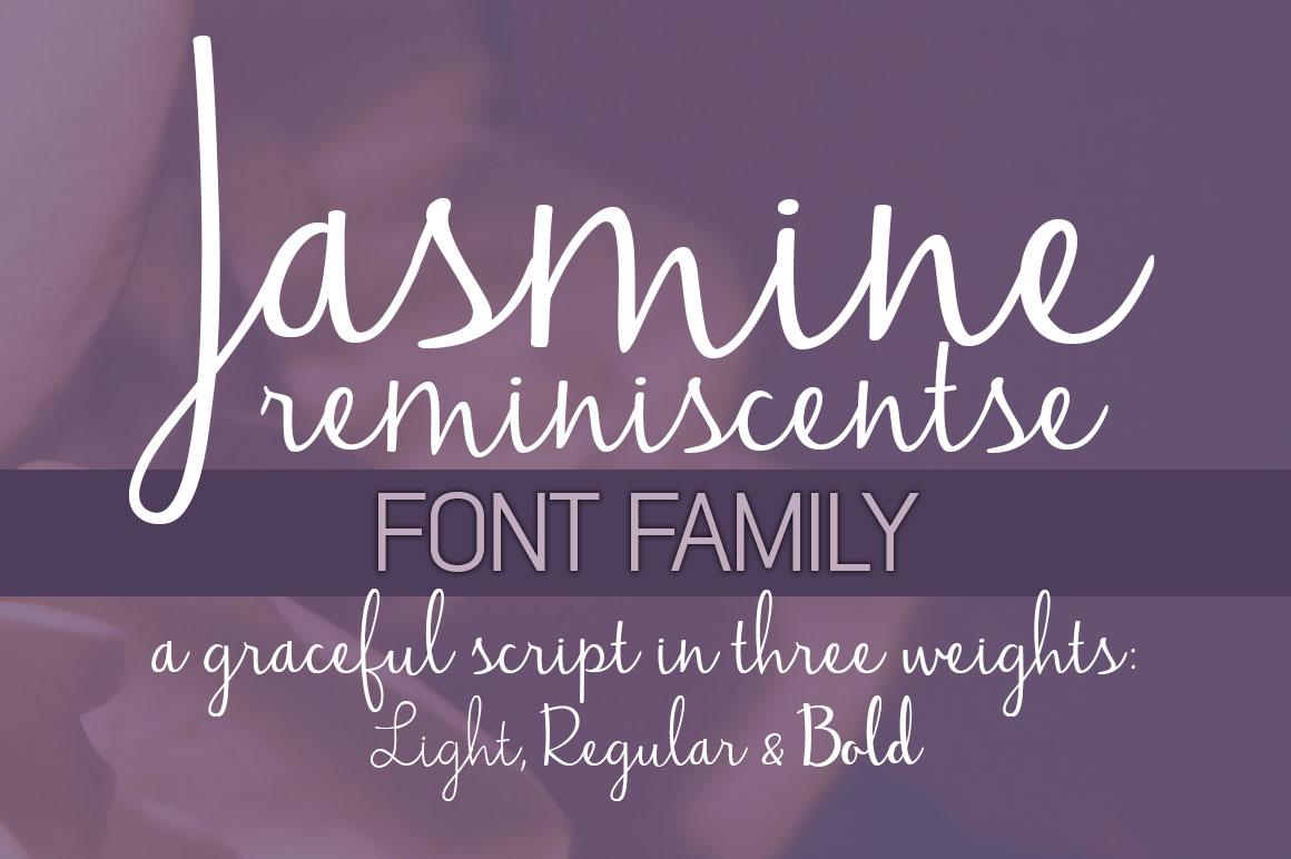 Jasmine Reminiscentse Font Download